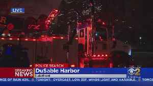 Car Found In DuSable Harbor, Large Police Presence With Search Underway [Video]