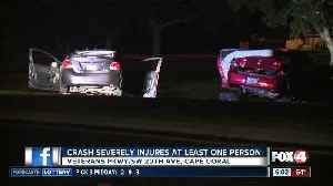 Injuries reported in serious crash on Veterans Parkway in Cape Coral Monday night [Video]