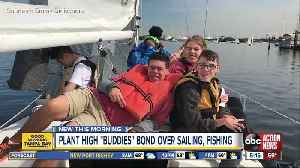 Plant High students and kids with special needs bond over sailing, fishing and golf [Video]