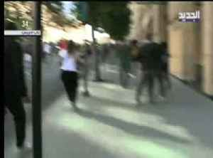 Lebanese protesters attack MP convoy enroute to parliament [Video]