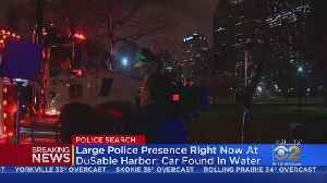 Large Police Presence Continues After Car Found In DuSable Harbor [Video]
