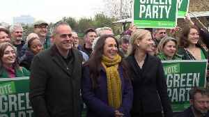 Greens promise 'most globally ambitious' deal to tackle climate emergency [Video]
