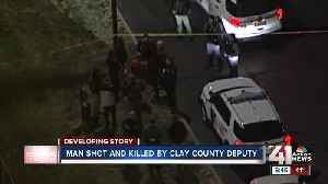 Man shot and killed by Clay County deputy [Video]