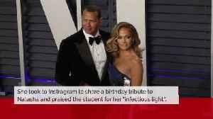 Jennifer Lopez's birthday tribute to future stepdaughter [Video]