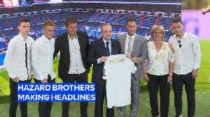 Could the Hazard boys be the best brother duo in football? [Video]