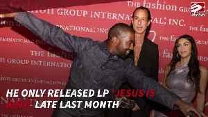 News video: Kanye West making new album