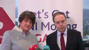 News video: Foster: DUP would not support Jeremy Corbyn-led government