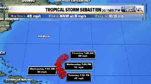 Tropical Storm Sebastien forms in the Atlantic [Video]