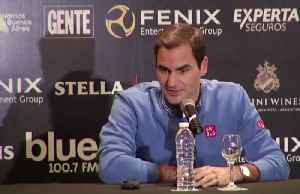 News video: 'I see no reason to stop' - At 38 Federer not thinking of retirement