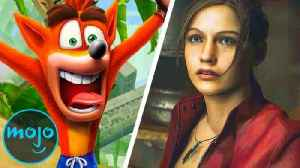 Top 10 Best Video Game Remakes [Video]