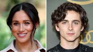 Meghan Markle, Timothee Chalamet Top Most Influential Stars in Fashion List | THR News [Video]