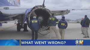 News video: Engine Failure On Southwest Flight 1380 Topic At NTSB Board Hearing