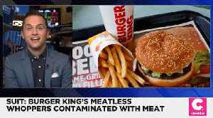 Vegan Man Sues Burger King Alleging Impossible Whopper Is Being Contaminated [Video]