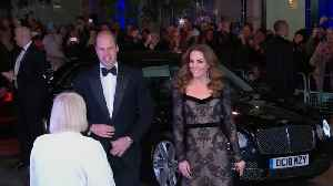 Prince William And Kate Middleton Attend Royal Variety Performance [Video]