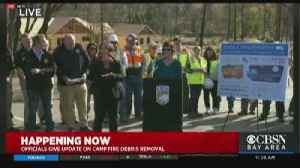 Raw Video: State Officials Give Update on Camp Fire Debris Removal [Video]