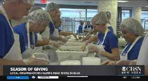 Local Organizations Helping Feed Those In Need As Holidays Approach [Video]