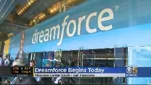 Dreamforce Conference Kicks Off At San Francisco's Moscone Center [Video]