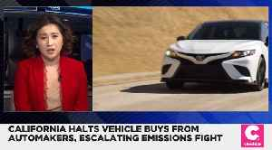 California Will Only Buy Cars From Automakers Who Recognize Emission Authority [Video]