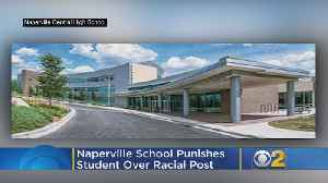 Naperville School Punishes Students Over Racial Post [Video]