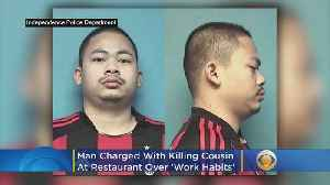 Man Charged With Killing Cousin At Restaurant Over 'Work Habits' [Video]