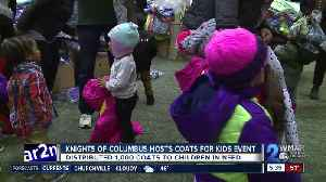 Knights of Columbus host 'Coats for Kids' event in Baltimore [Video]