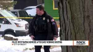 Beloit police launch homicide investigation after early morning shooting [Video]