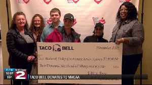 Taco Bell donation [Video]