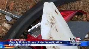 Deadly Police Chase Under Investigation [Video]
