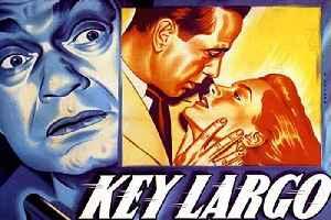 Key Largo Movie (1948) Humphrey Bogart, Edward G. Robinson, Lauren Bacall [Video]