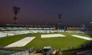 India vs Bangladesh 2nd Test : Eden Gardens decorated with pink lights for pink-ball match [Video]