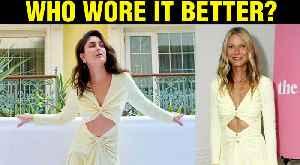 News video: Kareena Kapoor COPIES Iron Man Movie STAR Gwyneth Paltrow's Dress | Good Newwz Trailer Launch