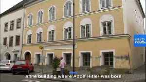 Adolf Hitler's childhood home will be converted into a police station [Video]