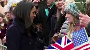Meghan Markle Surprises School Children With Thank You Notes [Video]