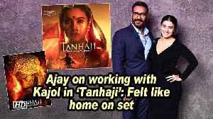 Ajay on working with Kajol in 'Tanhaji': Felt like home on set [Video]