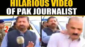 Pakistani TV reporter lashes out at passerby during a live broadcast, video goes viral | OneIndia