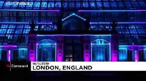 A million lights illuminate London's Royal Botanical Gardens