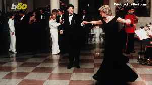 Princess Diana's Gown  She Wore to Dance with John Travolta To Be Auctioned Off [Video]