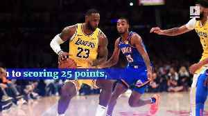 LeBron James Makes NBA History With Latest Triple-Double [Video]