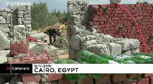Egyptian man builds eco-friendly home using only recycled material [Video]