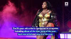 Lizzo Reacts to Becoming the Grammy's Most Nominated Artist of 2020 [Video]
