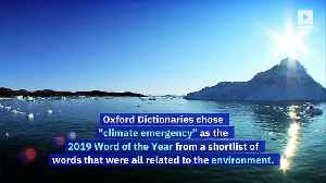 'Climate Emergency' Is Oxford's 2019 Word of the Year [Video]