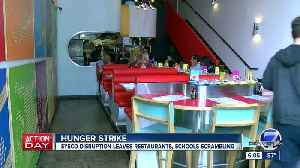Hundreds of Sysco workers are on strike and some restaurants are feeling the impact [Video]
