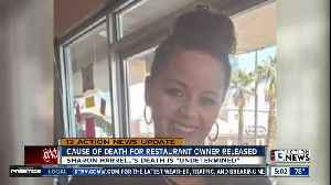 Coroner: Cause of death 'undetermined' for owner of TC's Rib Crib [Video]