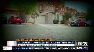 Coroner: Cause of death 'undetermined' for Las Vegas model encased in concrete [Video]