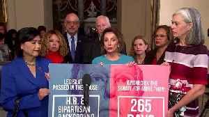 Pelosi tears up as lawmaker talks about gun violence [Video]