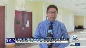 Jury deliberations underway in sentencing phase of Michael Jones [Video]