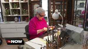 Her glass artistry is gaining national attention and big bucks [Video]