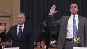 News video: Impeachment Testimony Focuses on Trump Phone Call