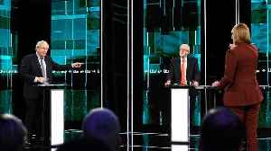News video: Corbyn and Johnson clash over Brexit in first TV debate