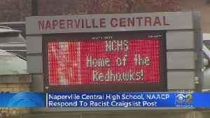 Naperville High School Responds To Racist Post [Video]